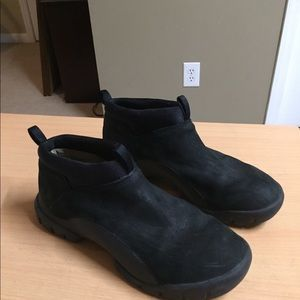 quality quality design prevalent Roots black Leather Ankle Boots Canada 7.5